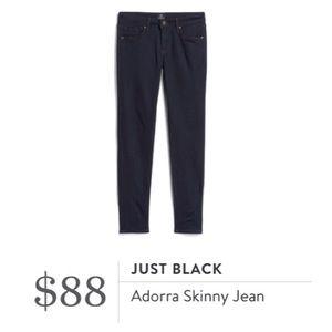NWT Just Black Adorra Skinny Jeans